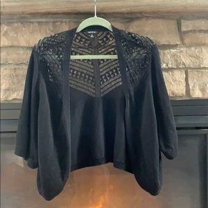 Torrid black cardigan